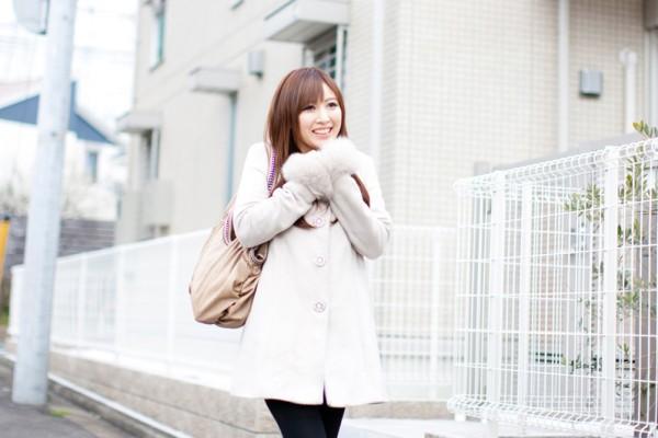 女性(冬の洋服)