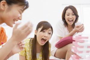 女友達と楽しむ