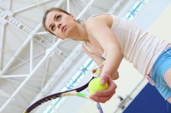 テニス女性