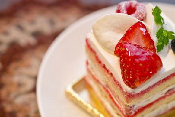 いちごのケーキ